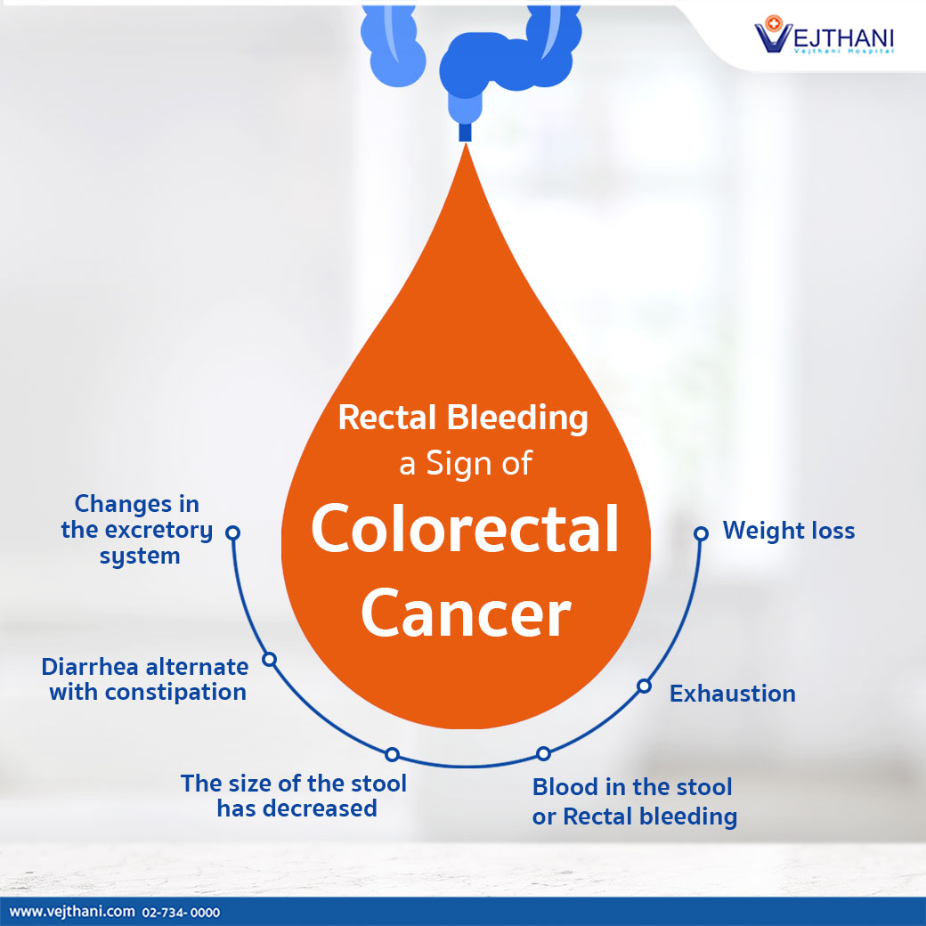 Blood In The Stool A Sign Of Colorectal Cancer Vejthani Hospital Jci Accredited International Hospital In Bangkok Thailand