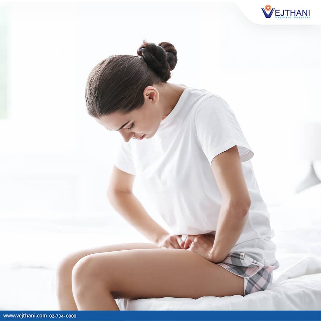 อาการปวดท้องจากโรคช็อกโกแลตซีสต์